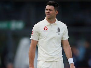 "England seamer James Anderson ""progressing nicely"" from calf injury"