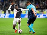 Blaise Matuidi in Serie A action for Juventus against Atalanta on May 19, 2019