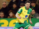 Matt Jarvis in action for Norwich City in February 2016