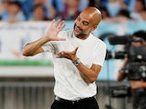 Man City boss Pep Guardiola pictured on July 27, 2019