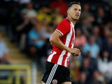 Phil Jagielka in action for Sheffield United on July 27, 2019