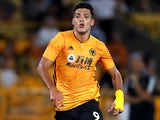 Raul Jimenez in action for Wolves on July 25, 2019