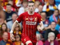 Ryan Kent in action for Liverpool on July 28, 2019