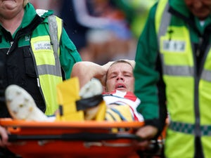 Ryan Shawcross's broken leg not as serious as first feared