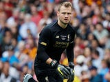 Simon Mignolet in action for Liverpool on July 28, 2019