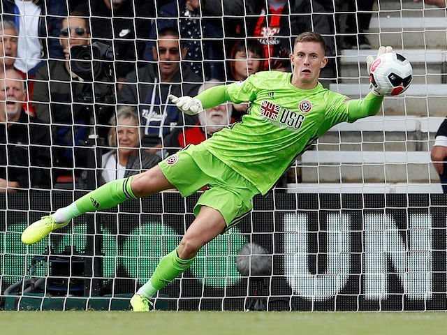 Dean Henderson earns England call-up as Tom Heaton, Ross Barkley drop out