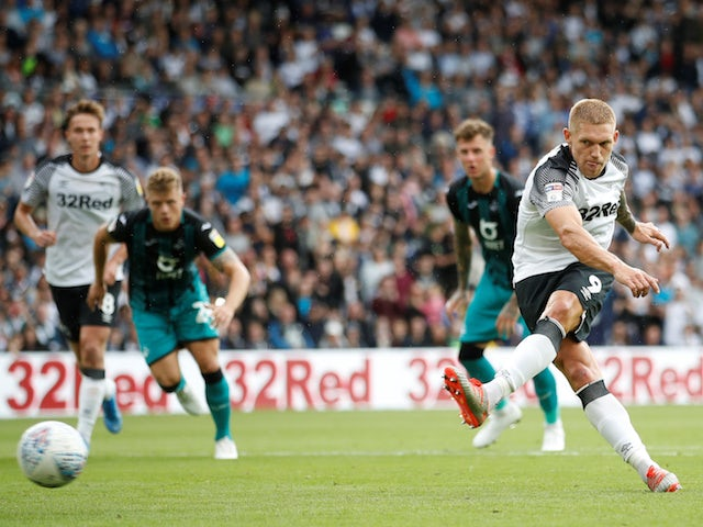 Result: Derby miss penalty in Swansea stalemate