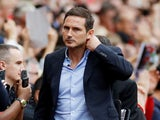 Chelsea manager Frank Lampard before the match on August 11, 2019