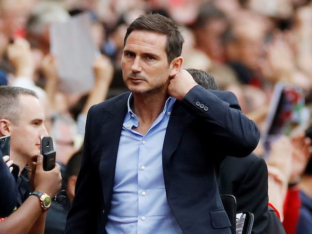 Lampard: 'Chelsea desperate for Super Cup win'