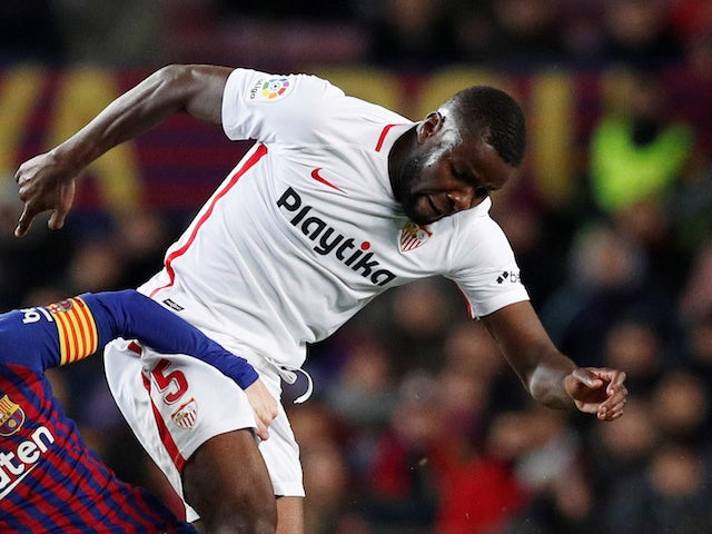 Ibrahim Amadou in action for Sevilla on January 30, 2019