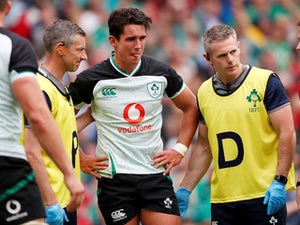 Joey Carbery suffers injury scare as Ireland beat Italy in World Cup warm-up