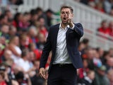 Middlesbrough manager Jonathan Woodgate pictured on August 10, 2019