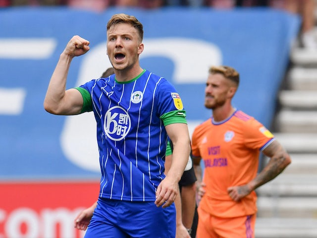 Result: Evans strike sees Wigan edge entertaining clash with Cardiff