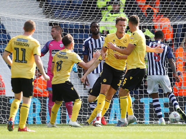 Result: West Brom held by Millwall