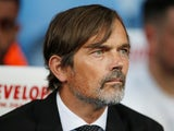 Derby boss Phillip Cocu pictured on August 5, 2019