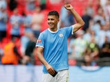 Rodri pictured in a Manchester City shirt on August 4, 2019