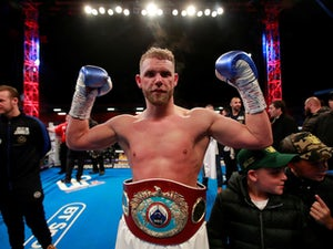 "Billy Joe Saunders apologises for video teaching men how to hit ""old woman"""