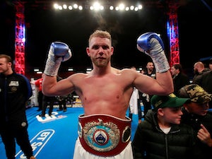 Billy Joe Saunders: 'Bad diet could cost me'