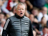 Sheffield United boss Chris Wilder pictured in a fetching gilet on August 18, 2019