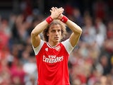 David Luiz in action for Arsenal on August 17, 2019