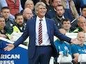 West Ham boss Manuel Pellegrini pictured on August 17, 2019