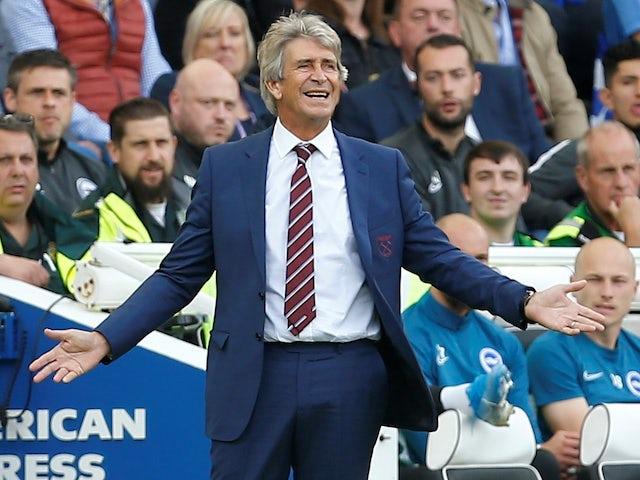 Manuel Pellegrini wary of Watford despite poor start to season