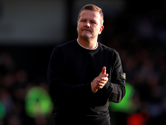 Forest Green Rovers boss Mark Cooper pictured on May 13, 2019