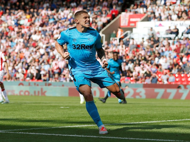 Result: Martyn Waghorn brace earns Derby point at Stoke