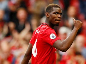 Paul Pogba pictured during Manchester United's Premier League clash with Chelsea on August 11, 2019