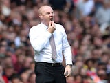 Burnley boss Sean Dyche pictured on August 17, 2019