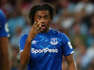 "Alex Iwobi feeling ""at home"" at Everton"