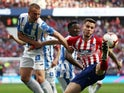 Leganes defender Vasyl Kravets in action against Atletico Madrid in La Liga on March 9, 2019