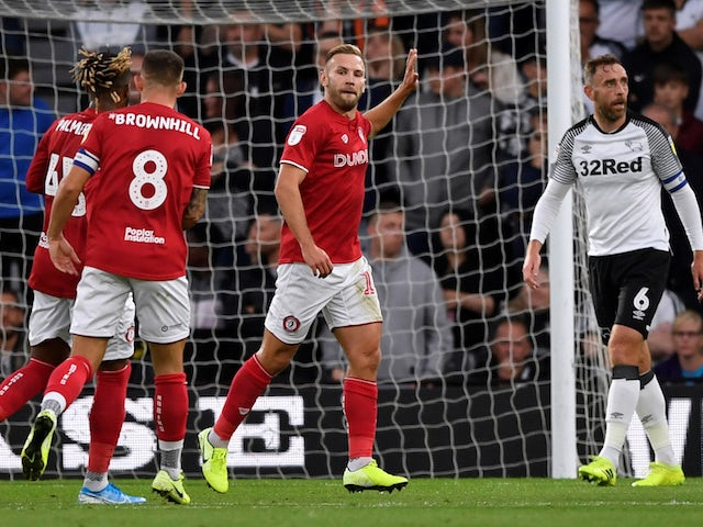 Result: Andreas Weimann stars against former club as Bristol City beat Derby