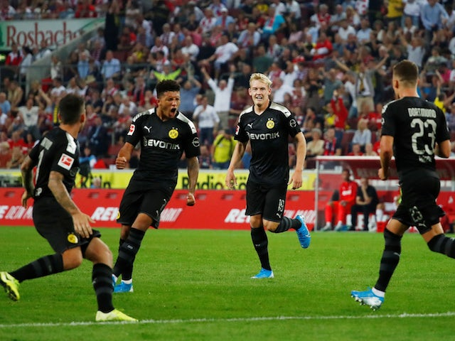 Result: Jadon Sancho scores again as Borussia Dortmund beat Koln