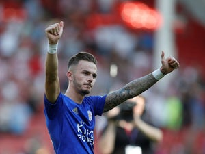 Maddison happy at Leicester amid Man Utd talk