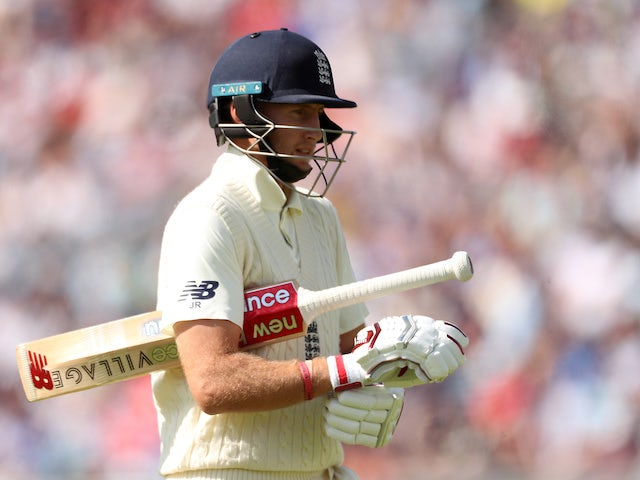 England's top three cheaply dismissed on day two