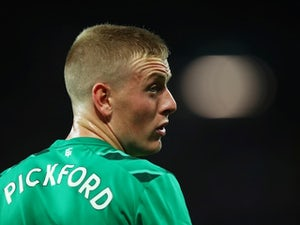 A look at Jordan Pickford's performance in Merseyside derby