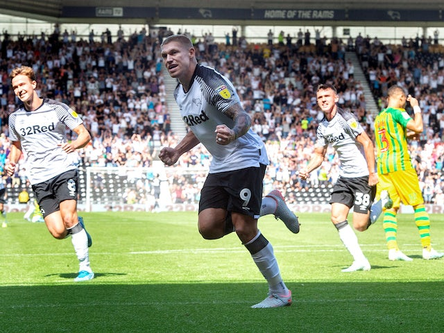 Result: Waghorn the difference as Derby claim fifth straight home win