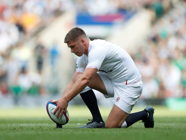 Owen Farrell: 'There's a lot more to come from England'