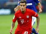 Philippe Coutinho in action for Bayern Munich on August 24, 2019