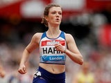 Britain's Sophie Hahn wins the Women's T35-38 100m race on July 21, 2019