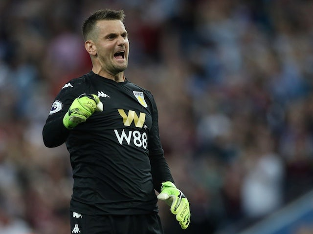 Man United want Tom Heaton as De Gea replacement?