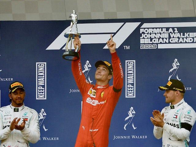 Charles Leclerc dedicates Belgian Grand Prix win to Anthoine Hubert