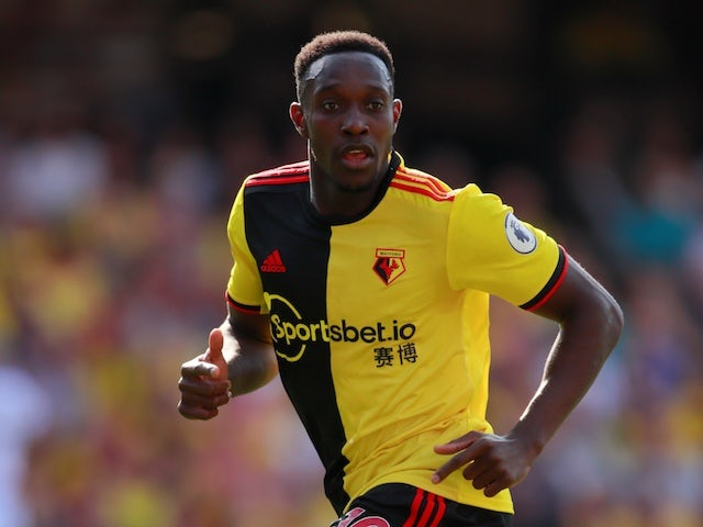 Watford's Danny Welbeck during the match on August 24, 2019