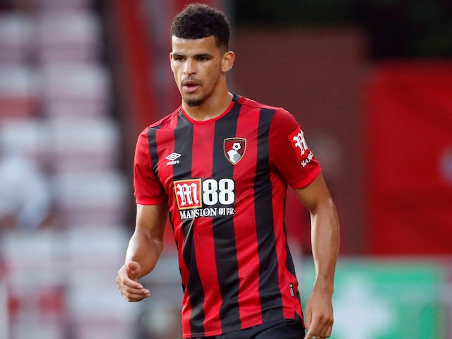 Dominic Solanke in action for Bournemouth on August 2, 2019