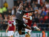 Georginio Wijnaldum in action during the Premier League game between Burnley and Liverpool on August 31, 2019