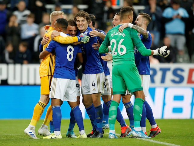 Result: Leicester beat Newcastle on penalties to progress in EFL Cup