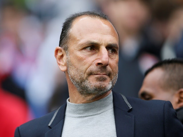 Montpellier boss Michel Der Zakarian pictured in March 2019