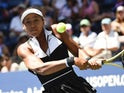 Naomi Osaka in action at the US Open on August 29, 2019