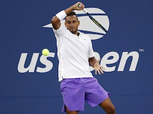 Nick Kyrgios into US Open third round after collar controversy